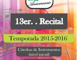 13 recital 15-16