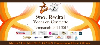 9no recital 14-15