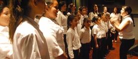 Coro y Orquestina de la Alcaldía de San Diego debutaron en el CCEAS