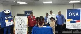ONA firmó convenio con el  Conservatorio de Música de Carabobo. Fomentando la prevención a través del arte.