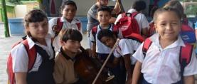 Conservatorio de Música de Carabobo y el IAEM sensibilizan a través del conocimiento de los instrumentos musicales.