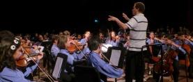 A oscuras celebró su aniversario el Conservatorio de Música