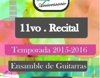 11vo recital 2015-2016