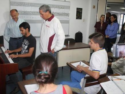 Gobernación renovó convenio con Conservatorio de Música